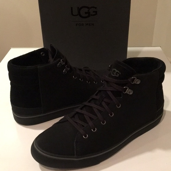 9f93bf54e2d New Ugg Hoyt High Tops Leather Suede sneakers ❤️ NWT